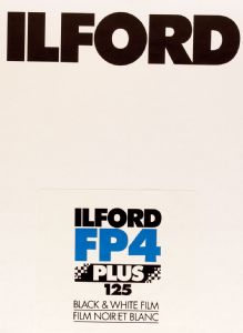 "Ilford FP4 4x5"" Sheet Film 25 Pack Black & White Large Format Camera Film"
